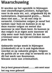 Hoax Alert Tankstations Nijmegen